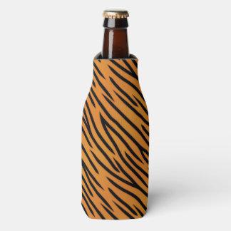 Tiger Stripe Pattern Bottle Cooler