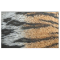 Tiger Stripe Print Pattern Background Fabric