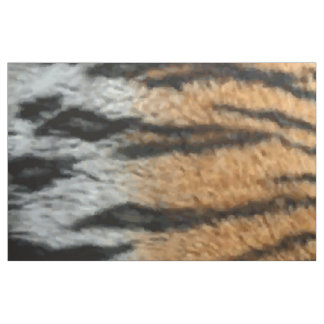 Tiger Stripe Print Pattern Background Fabric