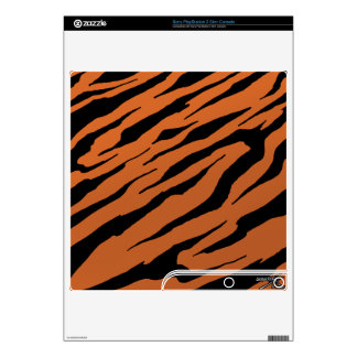 Tiger Stripe PS3 Vinyl Skins Decals For The PS3 Slim