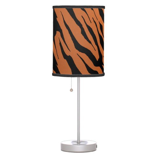 Tiger Stripe Table Lamp