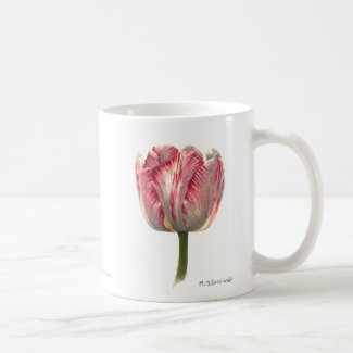 Tiger-Stripe Tulip 11 ounce Mug