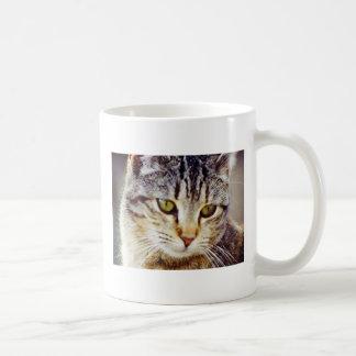 Tiger Striped Cat Coffee Mug