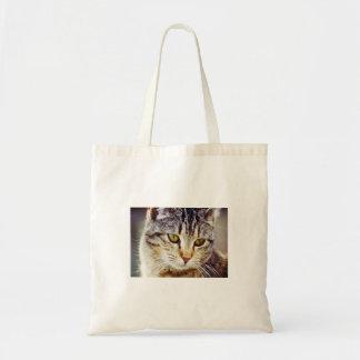 Tiger Striped cat Tote Bag