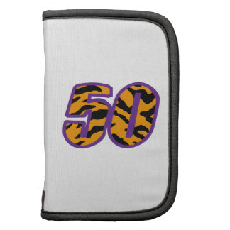 TIGER STRIPED FIFTY FOLIO PLANNERS