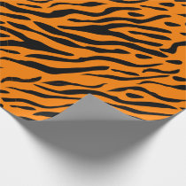 Tiger striped wrapping paper - gifts for tigers!