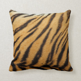 Tiger Stripes American MoJo Throw Pillow