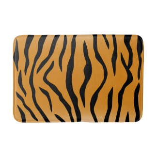 Tiger Stripes Bathroom Mat