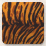 Tiger stripes. beverage coasters