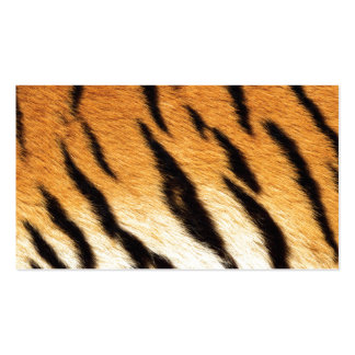 Tiger Stripes Business Card