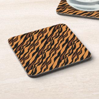 Tiger Stripes Camouflage Pattern Coaster