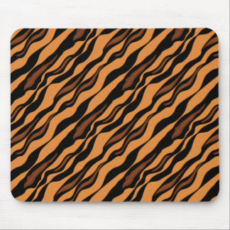 Tiger Stripes Camouflage Pattern Mouse Pads