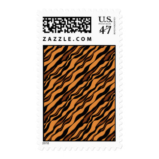 Tiger Stripes Camouflage Pattern Postage