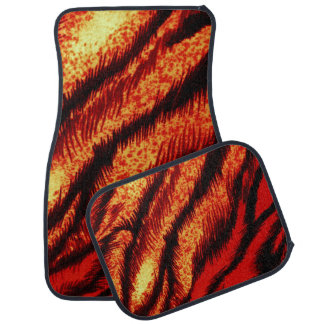 TIGER STRIPES ~ CAR MAT