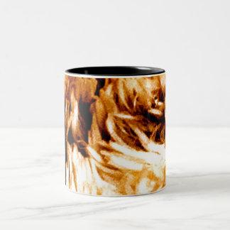 Tiger Stripes - golden brown Print - Mug
