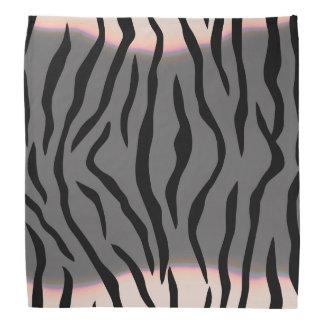 Tiger Stripes Gray Bandana