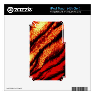 TIGER STRIPES ~ iPod TOUCH 4G SKIN