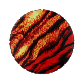 TIGER STRIPES ~ JELLY BELLY CANDY TIN