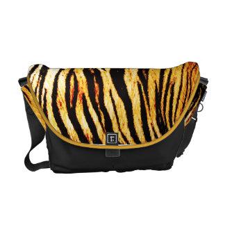 Tiger stripes Messenger bag
