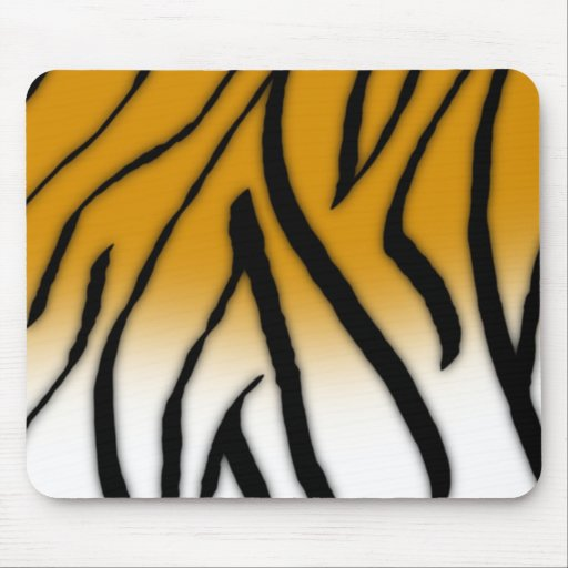 Tiger Stripes Mouse Pads