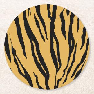Tiger Stripes Paper Coasters