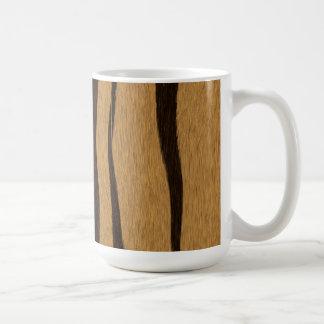 Tiger Stripes Pattern Coffee Mug
