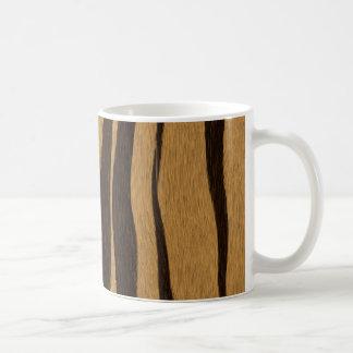 Tiger Stripes Pattern. Coffee Mug