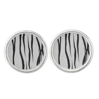 Tiger Stripes Pattern Cufflinks