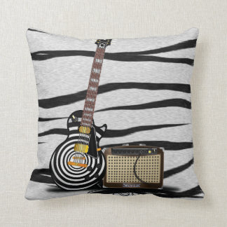 Tiger Stripes Pattern. Throw Pillow