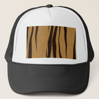Tiger Stripes Pattern Trucker Hat