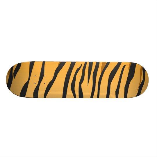 Tiger Stripes Skateboard Deck