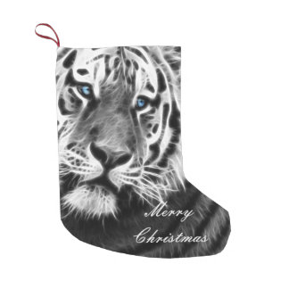 Tiger Stripes Small Christmas Stocking