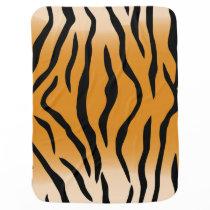 Tiger Stripes Stroller Blanket