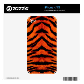 TIGER STRIPES too! ~~~~ Decal For iPhone 4