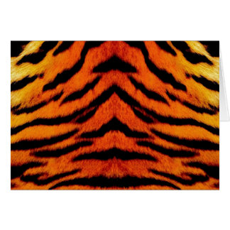TIGER STRIPES too! ~~~~ Greeting Card