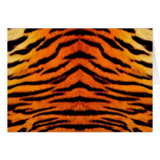 TIGER STRIPES too! ~~~ Greeting Card