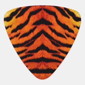 Tiger Stripes Too! ~~~~ Guitar Pick by TheWhippingPost at Zazzle