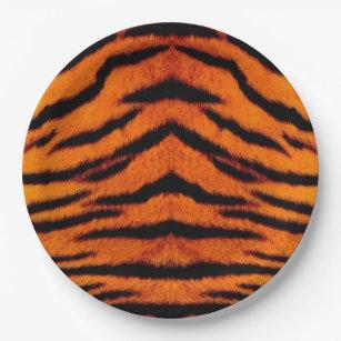 TIGER STRIPES too! ~~ Paper Plate  sc 1 st  Zazzle & Tiger Stripe Plates | Zazzle