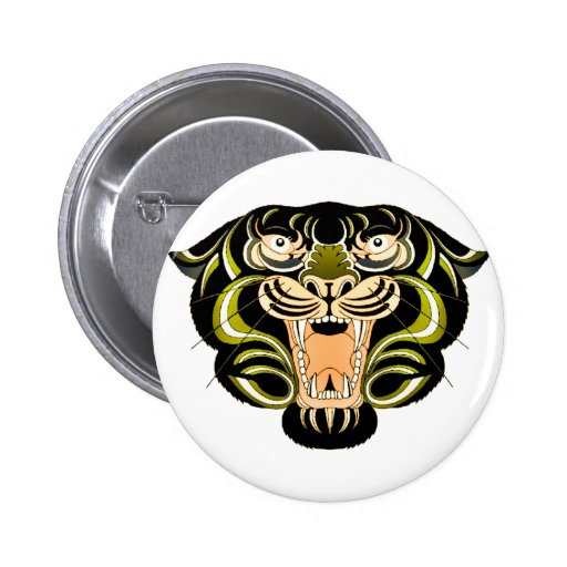 Tiger Style 1 Pinback Button