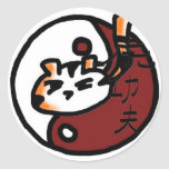 Tiger Style Kung Fu Stickers