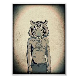 Tiger Style Poster