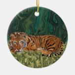 Tiger Sunday Serendipity Ornament