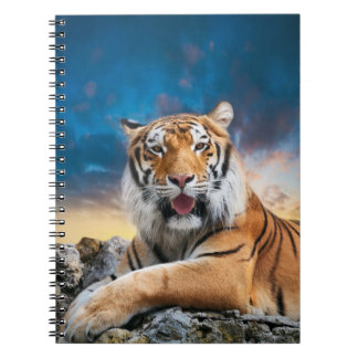 Tiger Sunset Notebook