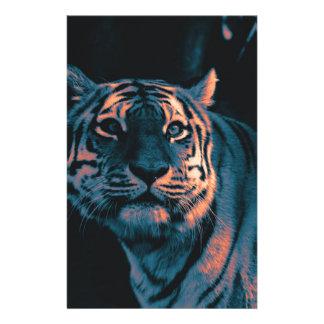 Tiger,Sunset Stationery