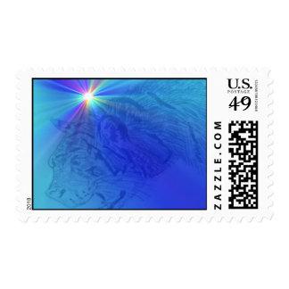 tiger supernova postage stamps