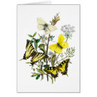 Tiger Swallowtail Butterflies Card