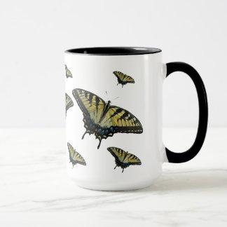 Tiger Swallowtail Butterflies Mug