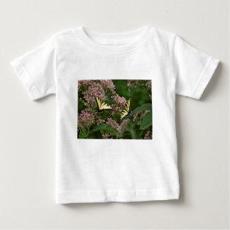 Tiger Swallowtail Butterflies on Joe Pye Weed Baby T-Shirt
