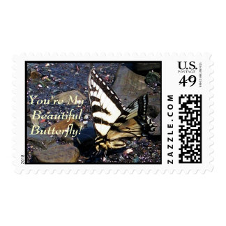 Tiger Swallowtail Butterfly 1 Stamps