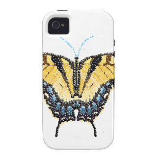 Tiger Swallowtail Butterfly Bedazzled iPhone 4/4S Cover